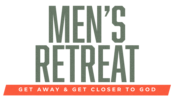 Mens Retreat Get Away Outdoors Forest Logo
